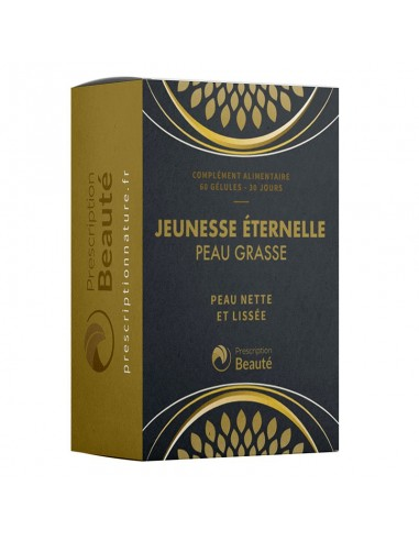 JEUNESSE ÉTERNELLE PEAU GRASSE
